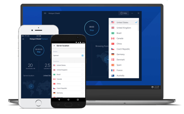 Hotspot-Shield-VPN-UI