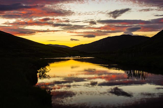 A Cairngorm Sunset Explored