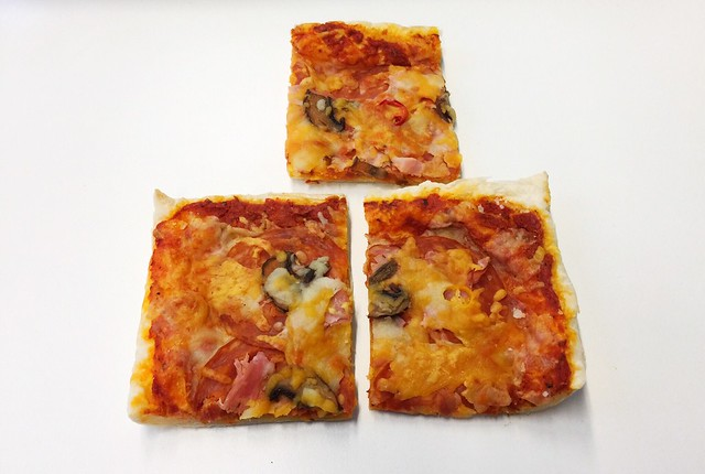 Cold puff pastry pizza / Kalte Blätterteig-Pizza