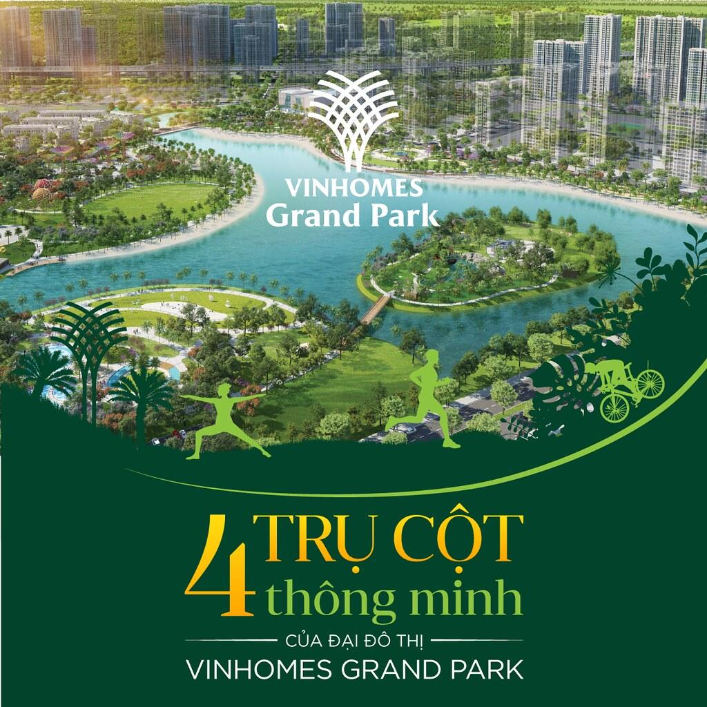 4 cột trụ thông minh của đại đô thị Vinhomes Grand Park 1