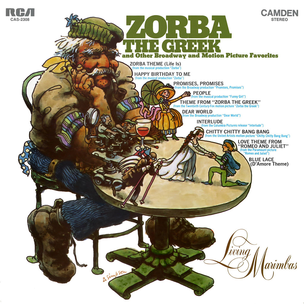 Living Marimbas - Zorba the Greek