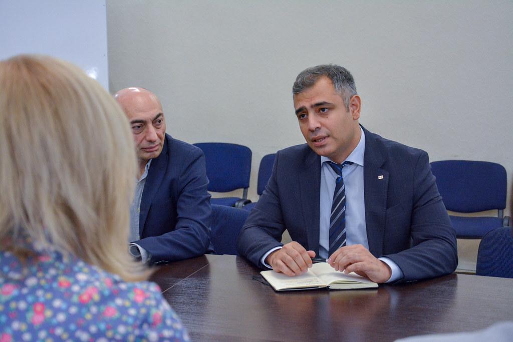 Візит Ельхана Рахімова, в.о. директора Європейського офісу МФТЧХіЧП