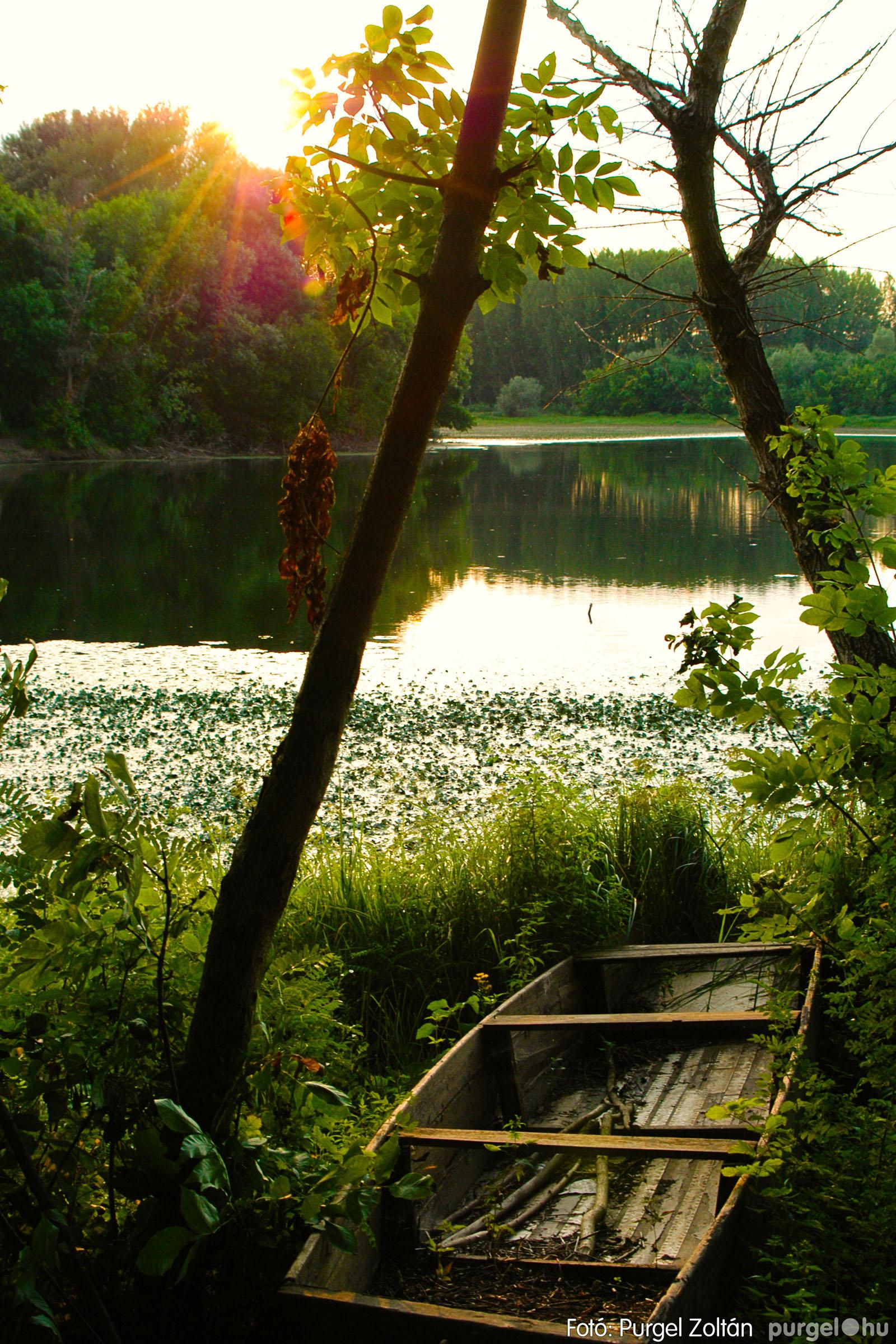 2003.08.01. 014 Naplemente előtt a Holt-Tiszán - Fotó:PURGEL ZOLTÁN© DSC_0030q.jpg
