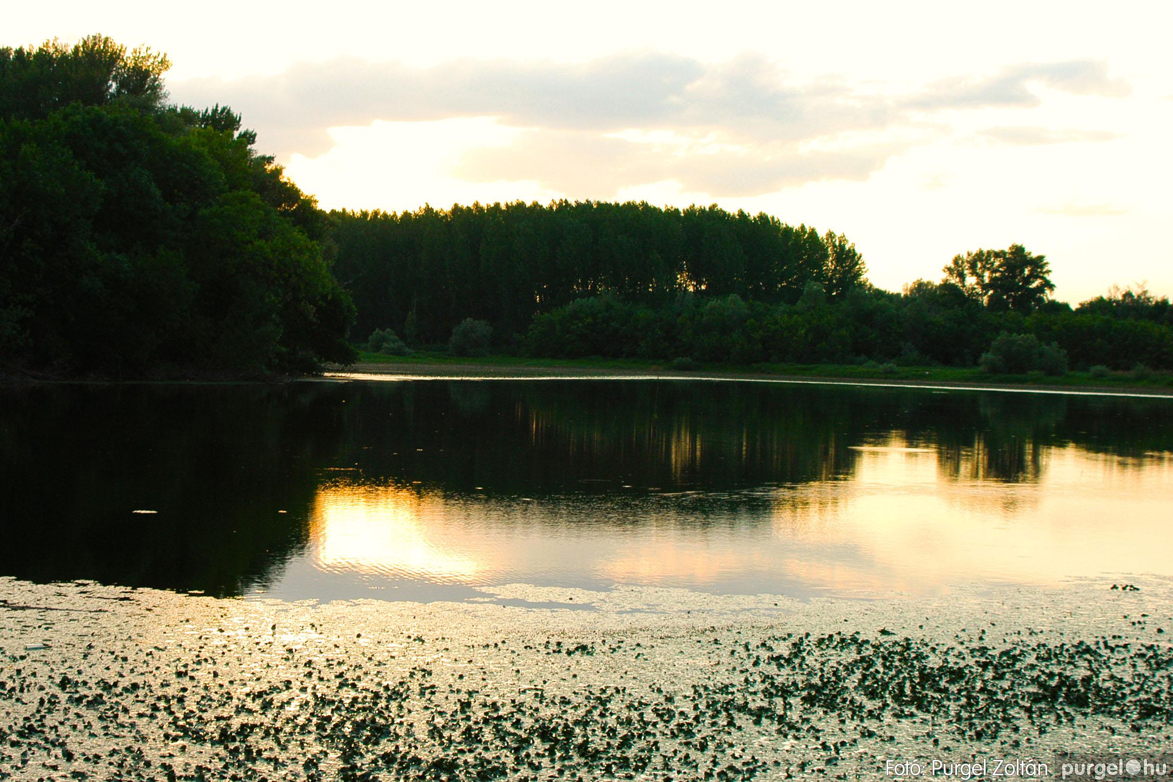 2003.08.01. 015 Naplemente előtt a Holt-Tiszán - Fotó:PURGEL ZOLTÁN© DSC_0031q.jpg