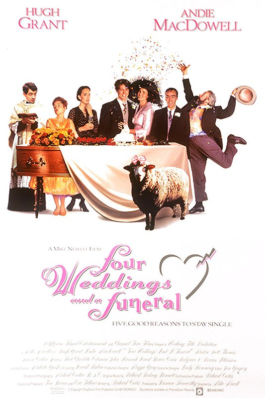 Four Weddings and a Funeral - Poster 5