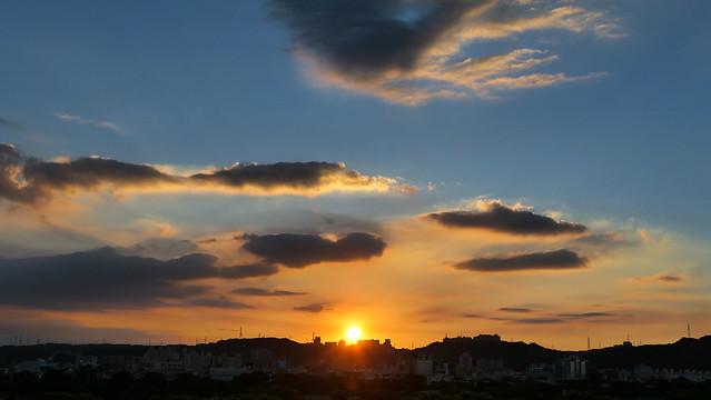 日落的氛圍 Sunset atmosphere