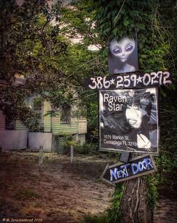 Next Door, a psychic empath named Raven Star in Cassadaga … | Flickr