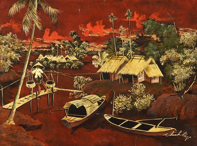 Tranh Đông Dương xưa