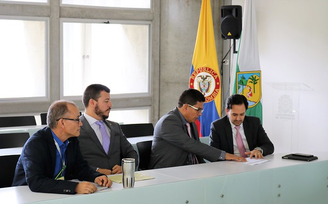 Visita del Viceministro de Minas y Energía