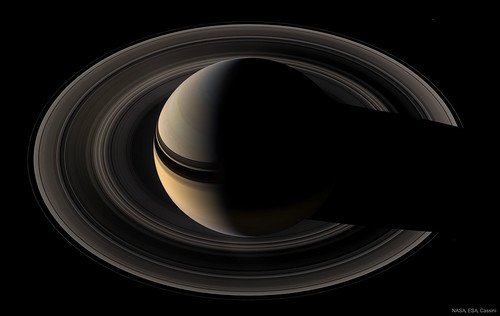 Crescent Saturn