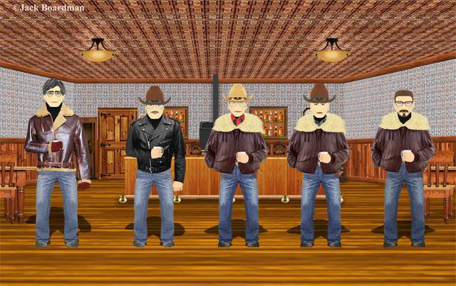 Simpson & Keller hired 3 more men ©Jack Boardman