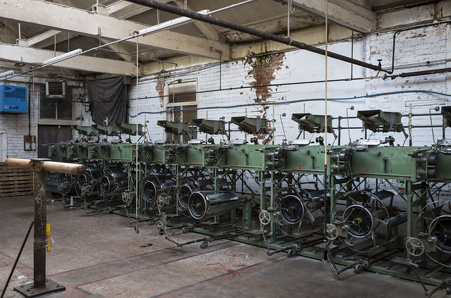 Old textile machines