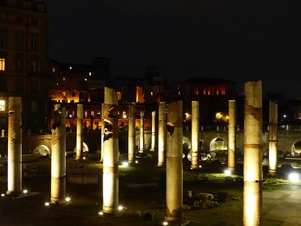 colonnes de nuit