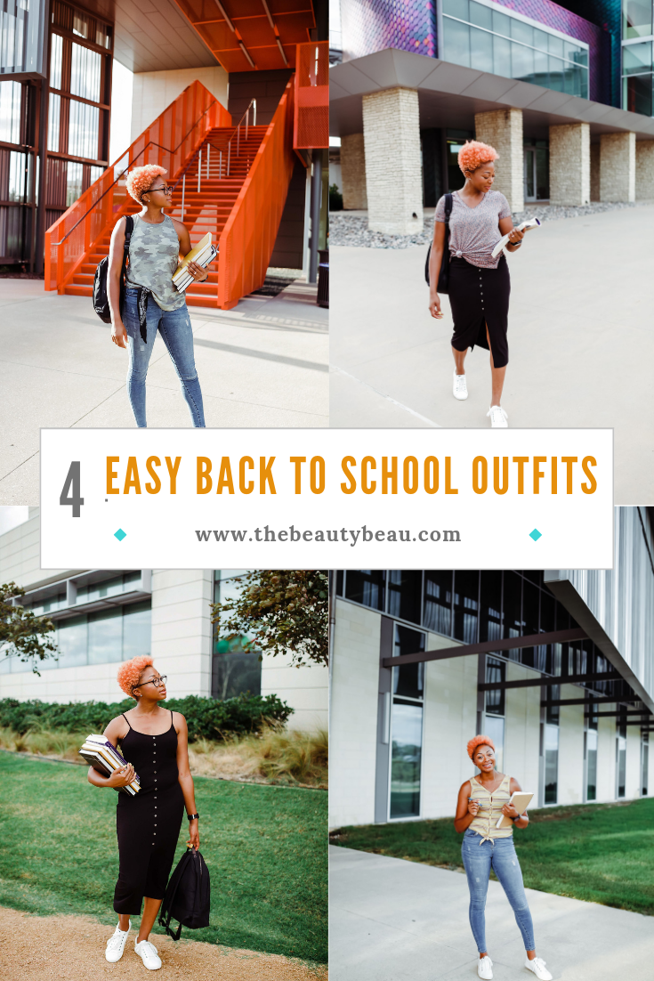 4 easy back to school outfits