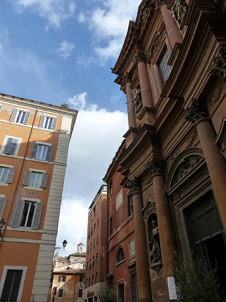 ciel et façades