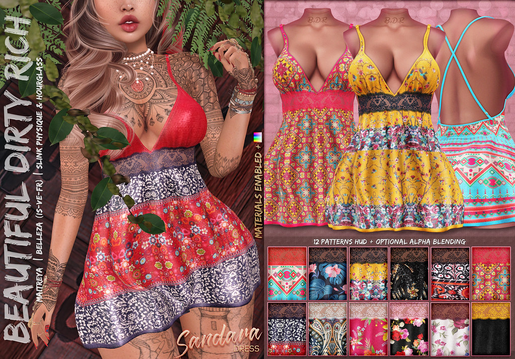 *B.D.R.* Sandara -Dress-