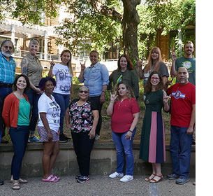 LCSP Teachers at Fall Prep Workshop