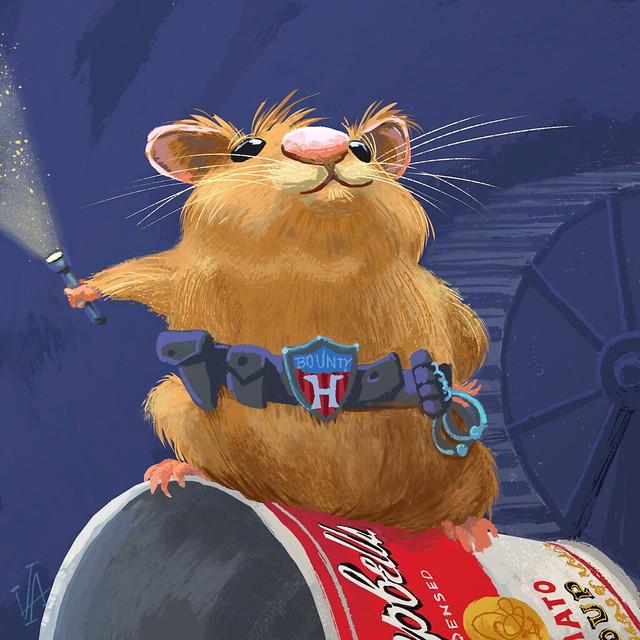 Rex Plum, Bounty Hamster