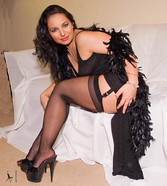 Diana, MILF In Black