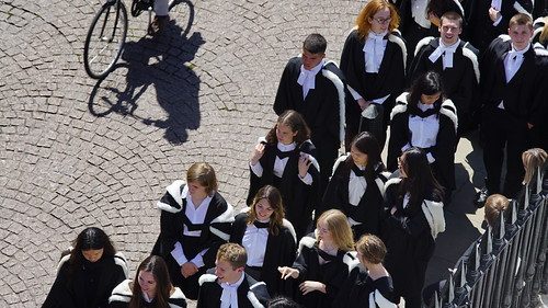 Trinity Hall Graduate Procession 2019