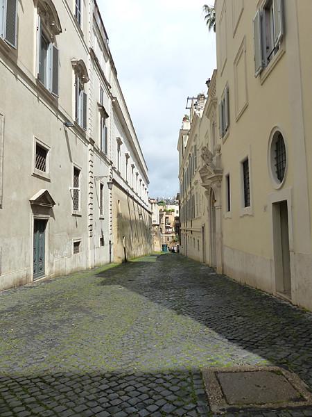 ruelle du Quirinal