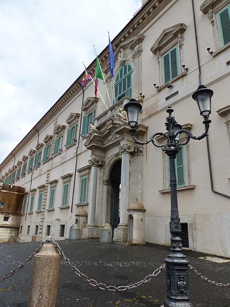 le palais du Quirinal