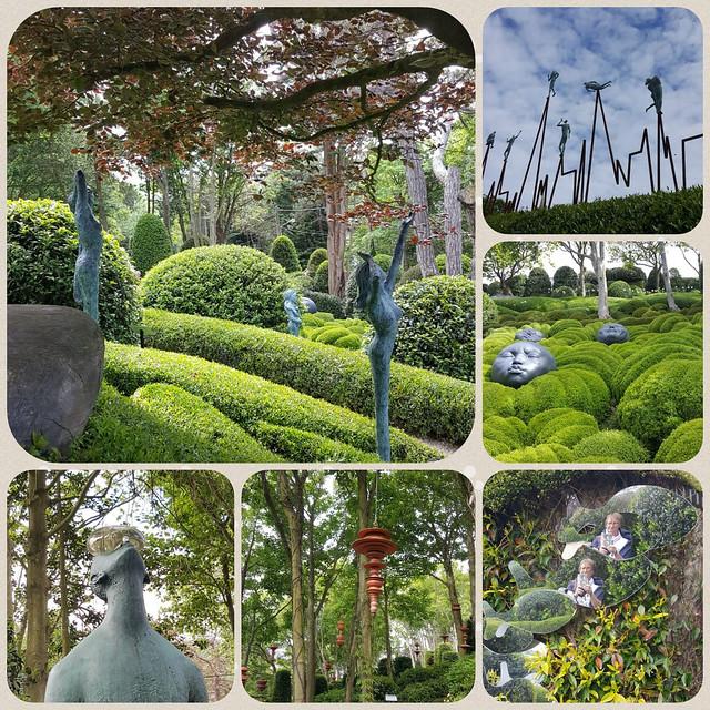 Mai/Juni 2019 ... Karla Kunstwadl mit Margit & Gerhard in der Normandie: Der Garten von Étretat