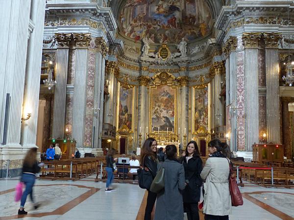 inside saint ignace