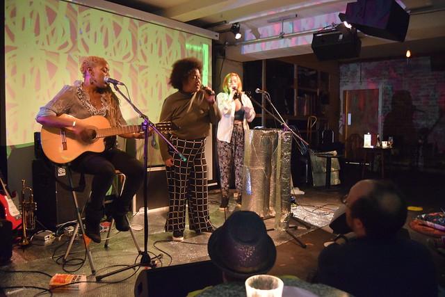 Robyn's Rocket july 2019 cafe oto london live art