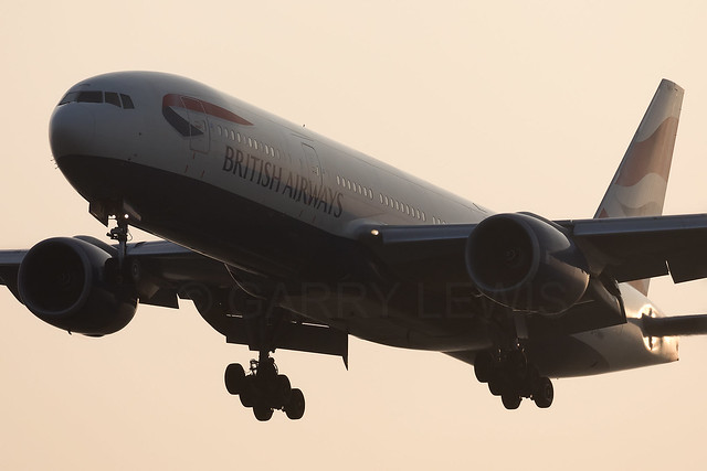 British Airways Boeing 777-200ER G-YMMH [LHR]