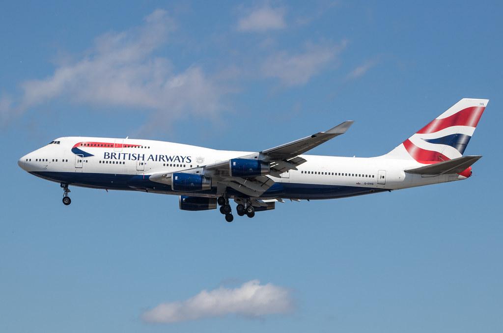 EGLL - Boeing 747-436 - British Airways - G-CIVG
