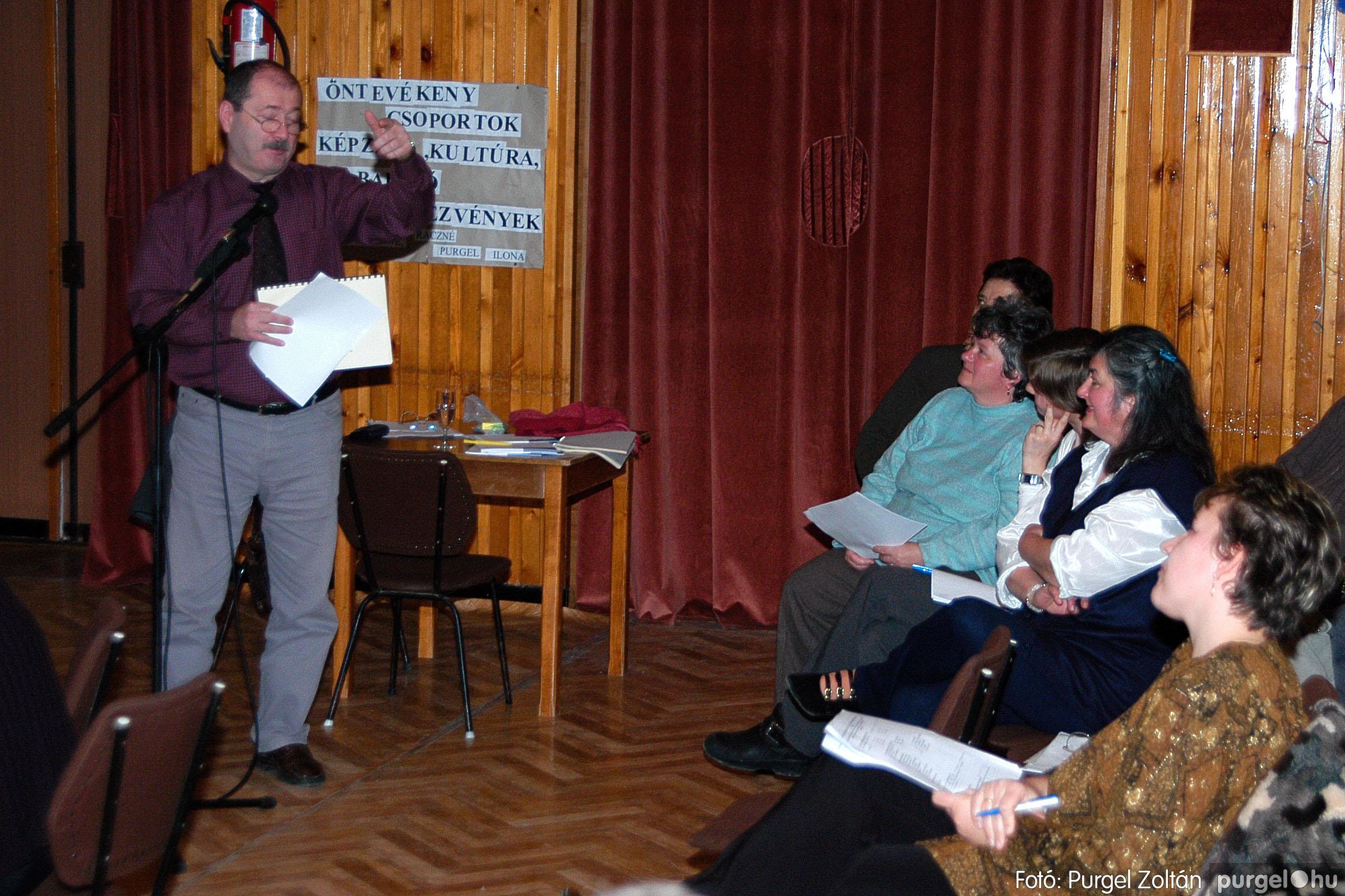 2004.01.13. 020 Szegváriak Szegvárért Közösségfejlesztők Egyesület beszámolója - Fotó:PURGEL ZOLTÁN© _0020q.jpg