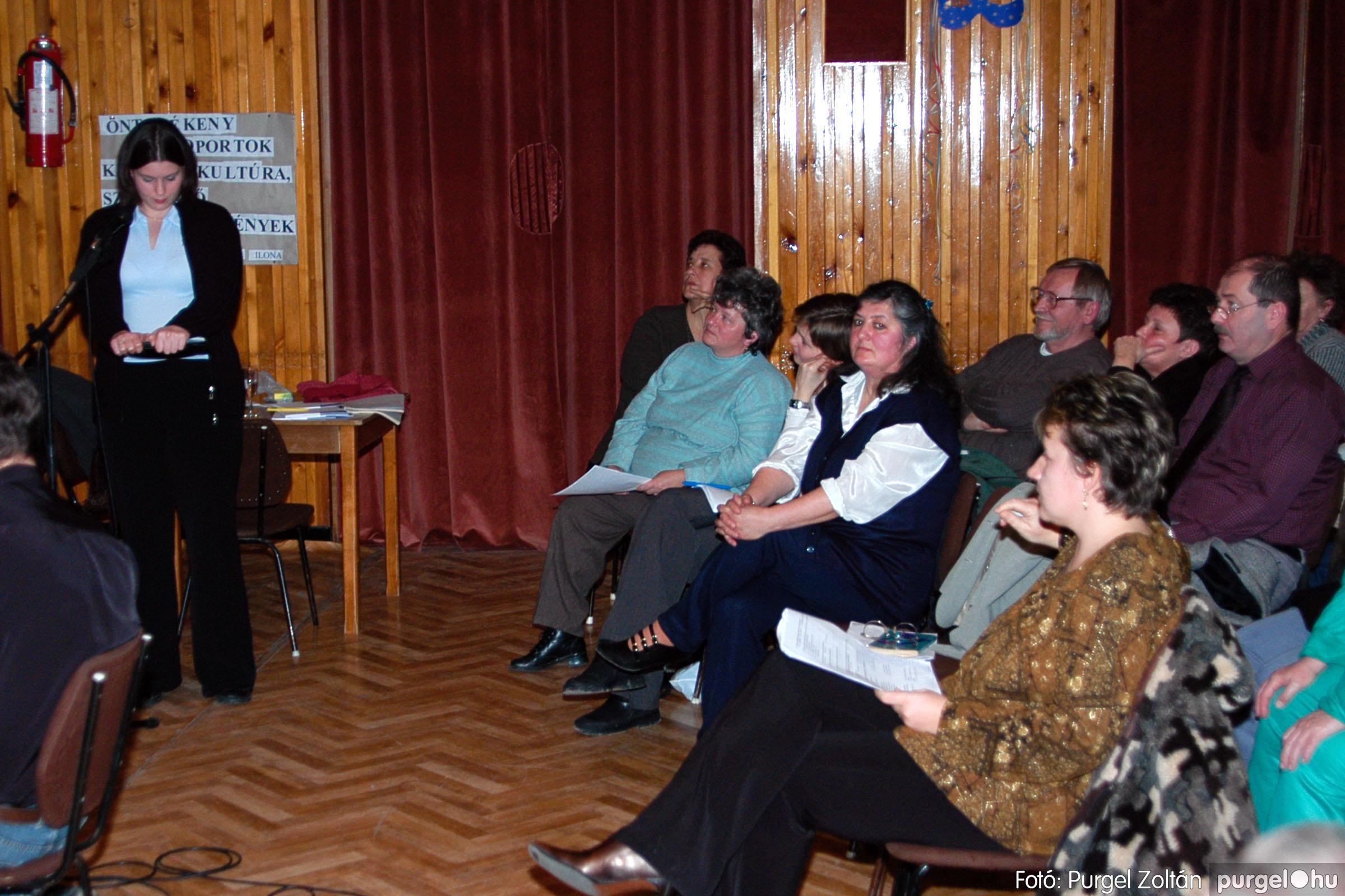 2004.01.13. 017 Szegváriak Szegvárért Közösségfejlesztők Egyesület beszámolója - Fotó:PURGEL ZOLTÁN© _0017q.jpg