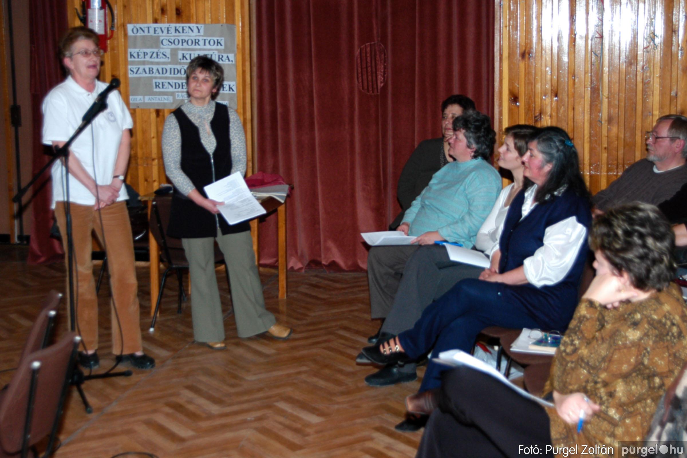 2004.01.13. 016 Szegváriak Szegvárért Közösségfejlesztők Egyesület beszámolója - Fotó:PURGEL ZOLTÁN© _0016q.jpg