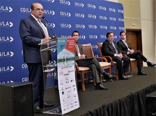 Governador na abertura do Fórum Latino-Americano de Liderança em Infraestrutura