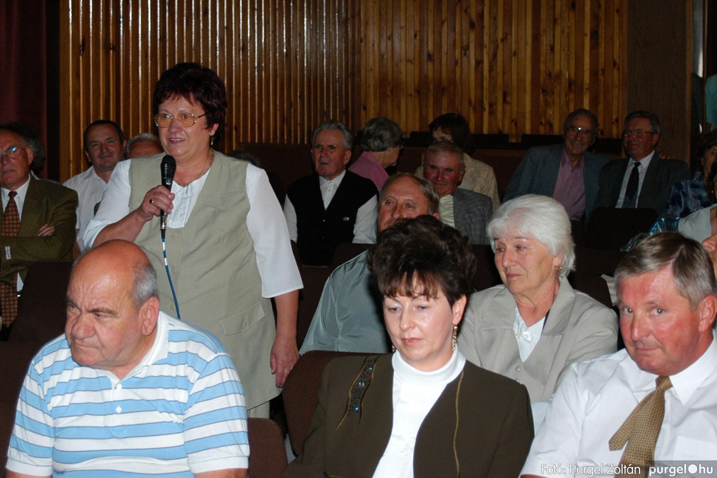 2003.09.20. 057 Elszármazottak találkozója 2003. Fotó:PURGEL ZOLTÁN© DSC_0065q.jpg