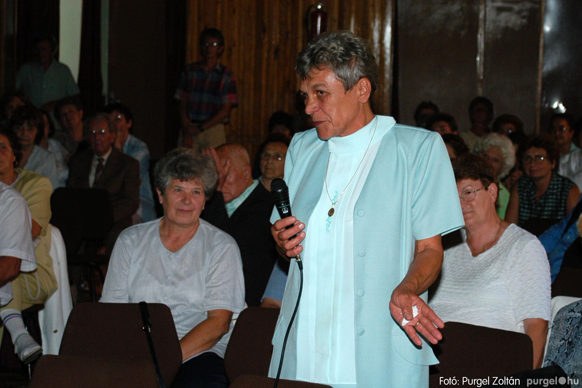2003.09.20. 055 Elszármazottak találkozója 2003. Fotó:PURGEL ZOLTÁN© DSC_0063q.jpg