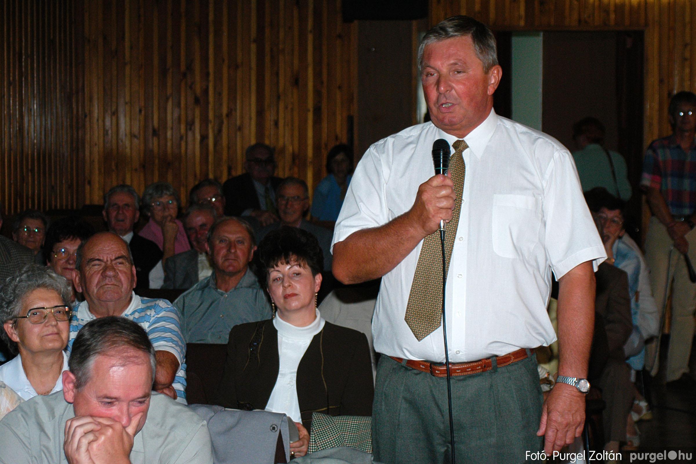2003.09.20. 045 Elszármazottak találkozója 2003. Fotó:PURGEL ZOLTÁN© DSC_0053q.jpg