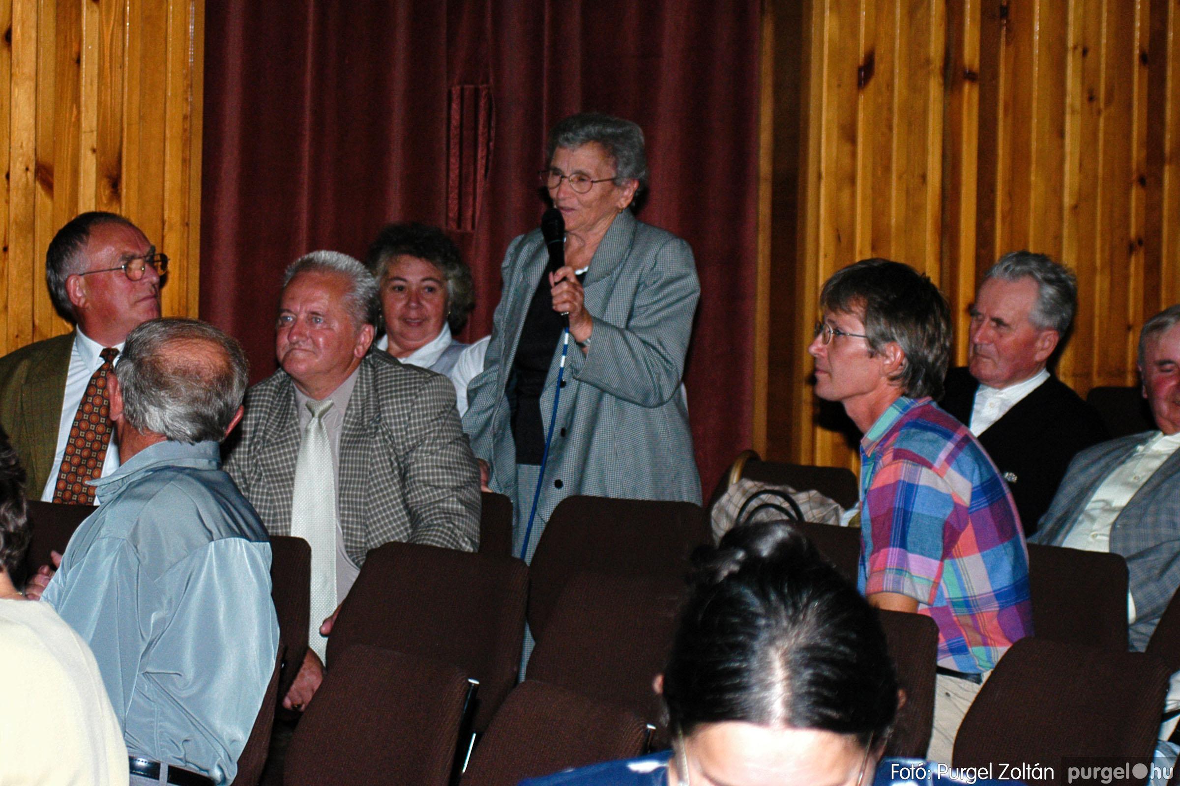 2003.09.20. 044 Elszármazottak találkozója 2003. Fotó:PURGEL ZOLTÁN© DSC_0051q.jpg