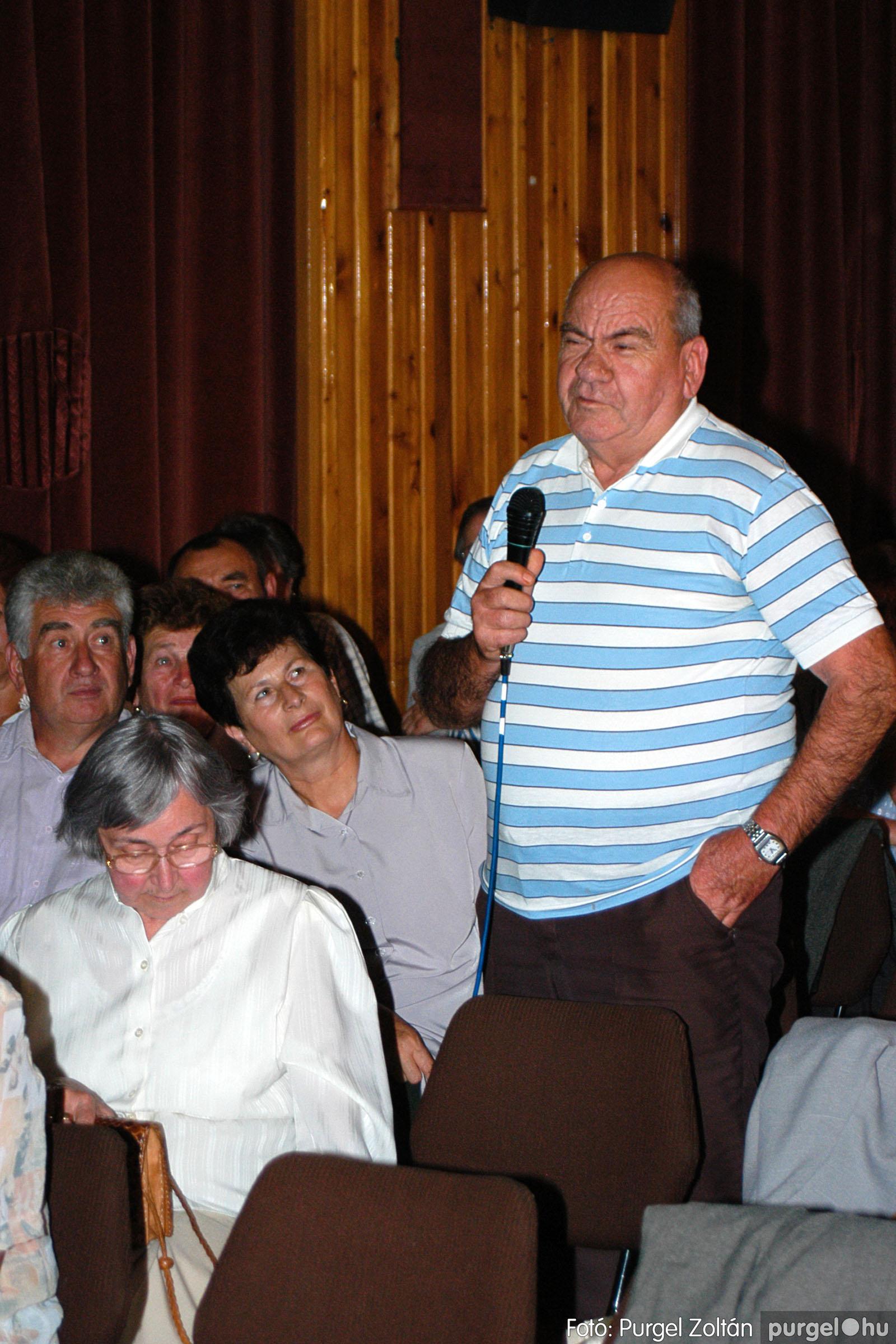2003.09.20. 035 Elszármazottak találkozója 2003. Fotó:PURGEL ZOLTÁN© DSC_0041q.jpg