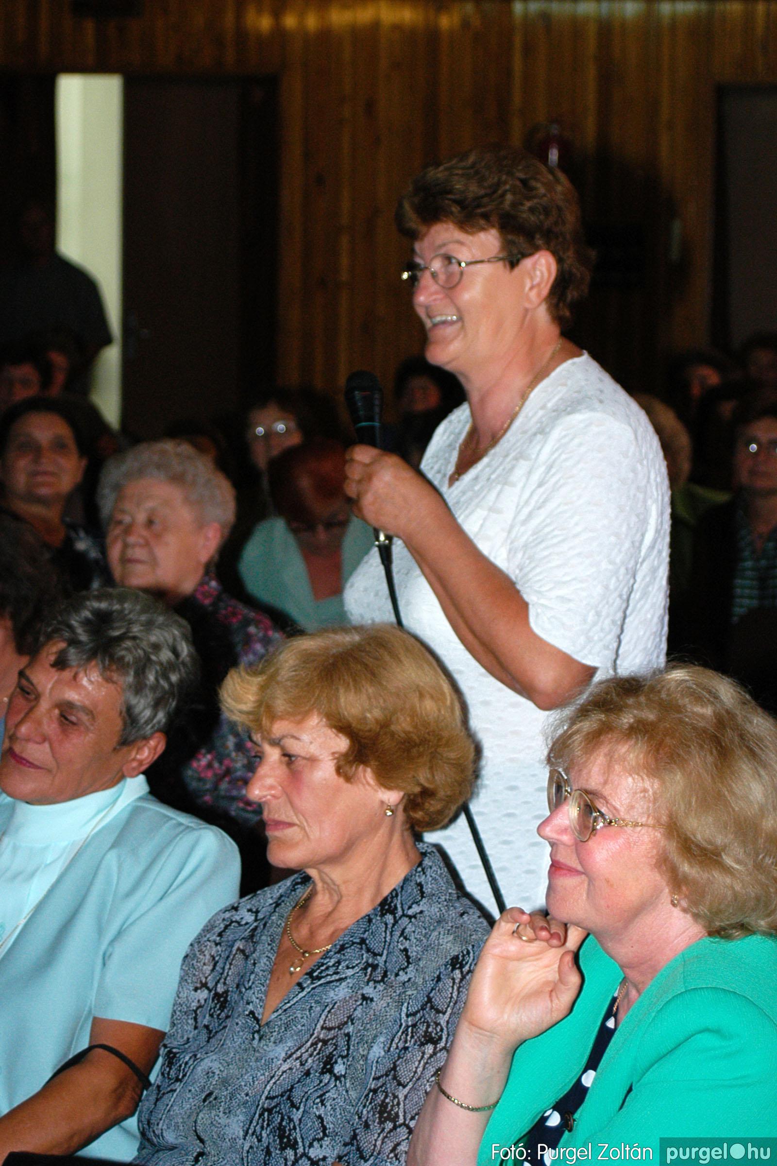 2003.09.20. 027 Elszármazottak találkozója 2003. Fotó:PURGEL ZOLTÁN© DSC_0033q.jpg