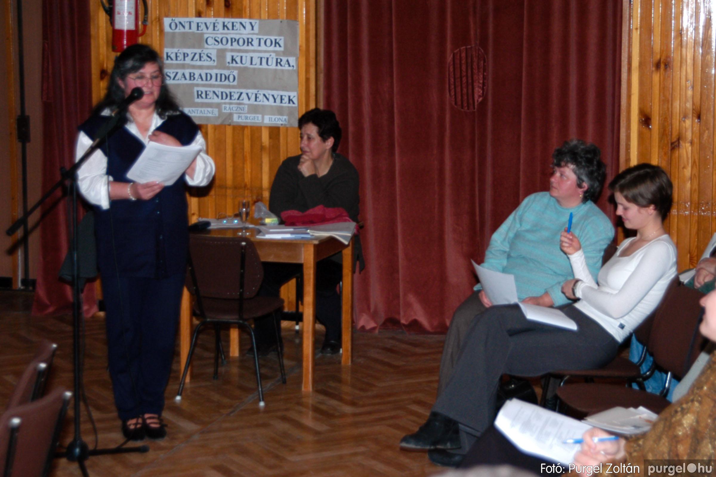 2004.01.13. 015 Szegváriak Szegvárért Közösségfejlesztők Egyesület beszámolója - Fotó:PURGEL ZOLTÁN© _0015q.jpg