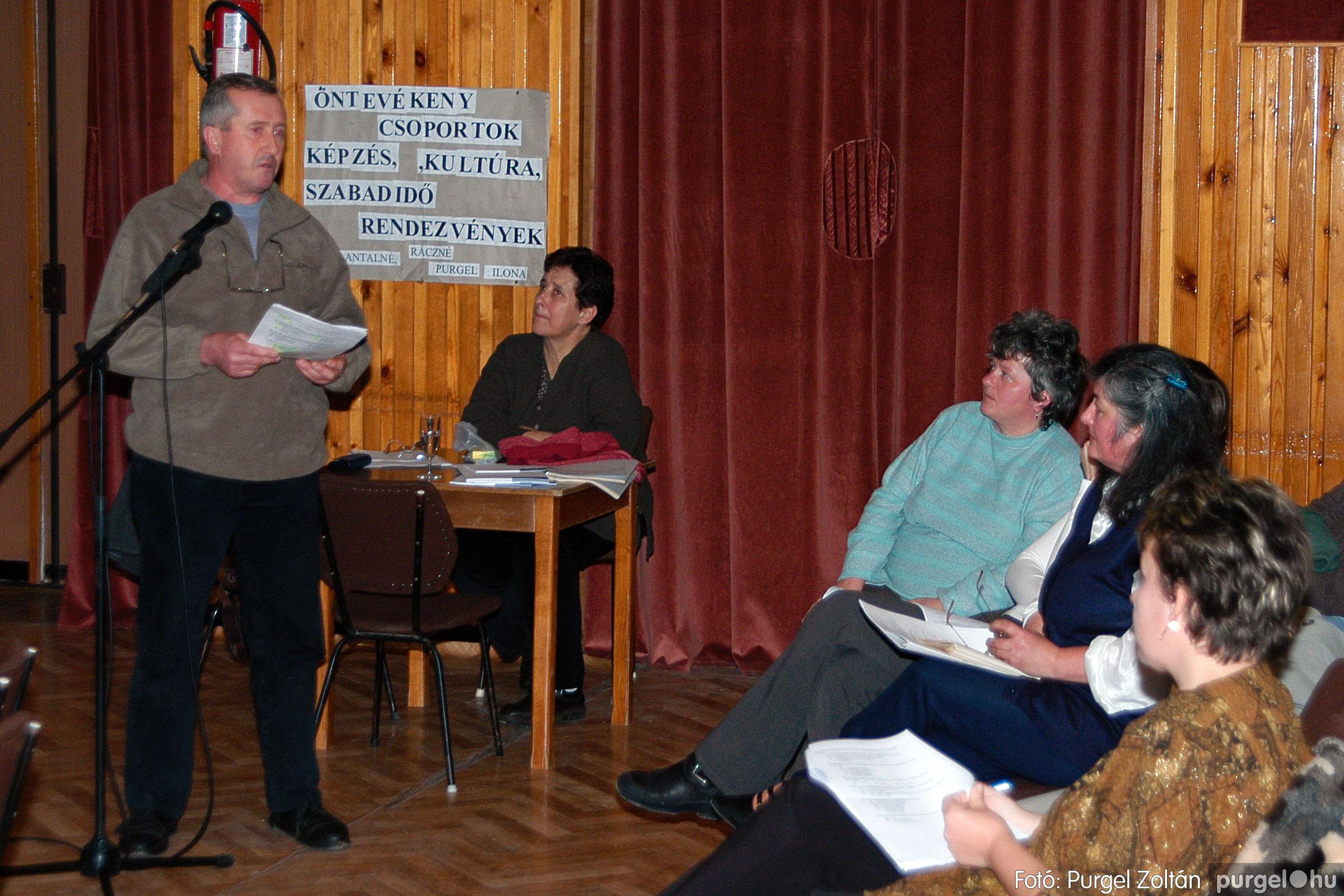 2004.01.13. 014 Szegváriak Szegvárért Közösségfejlesztők Egyesület beszámolója - Fotó:PURGEL ZOLTÁN© _0014q.jpg