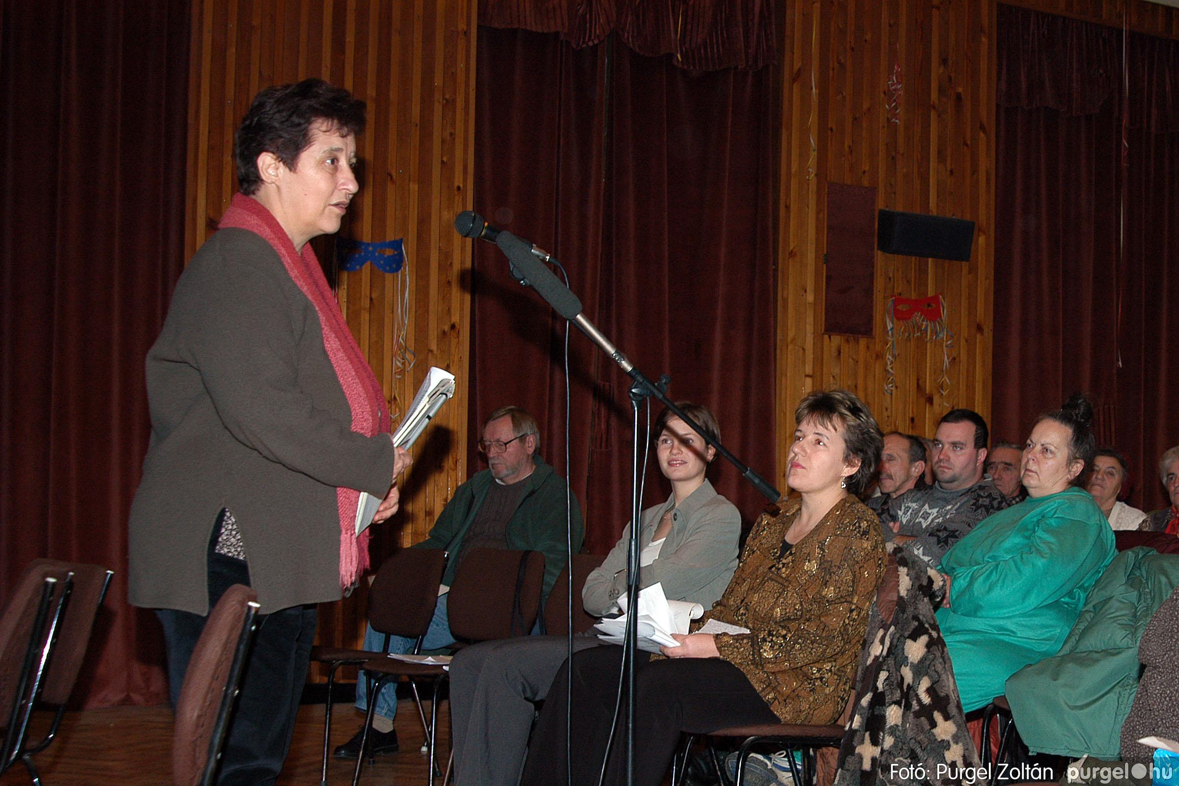 2004.01.13. 001 Szegváriak Szegvárért Közösségfejlesztők Egyesület beszámolója - Fotó:PURGEL ZOLTÁN© _0001q.jpg
