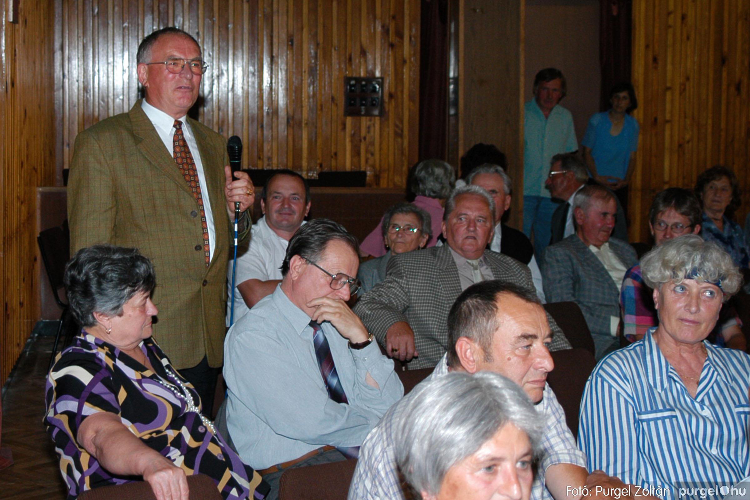 2003.09.20. 058 Elszármazottak találkozója 2003. Fotó:PURGEL ZOLTÁN© DSC_0066q.jpg