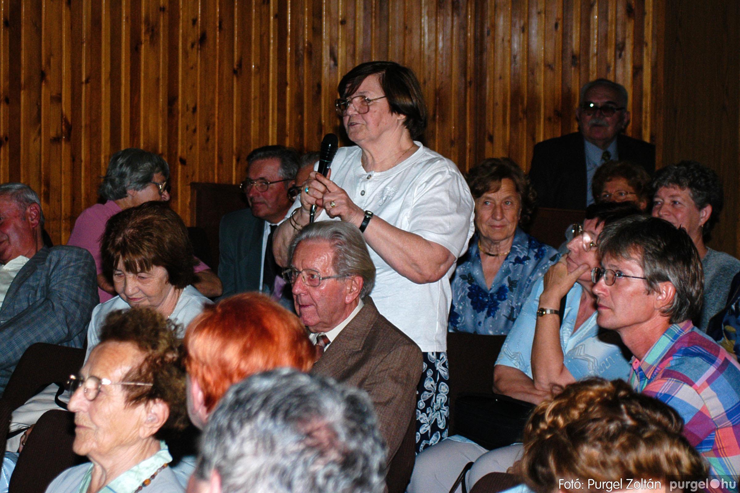 2003.09.20. 042 Elszármazottak találkozója 2003. Fotó:PURGEL ZOLTÁN© DSC_0049q.jpg