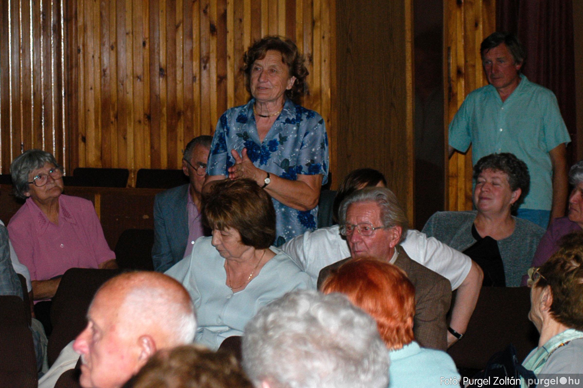 2003.09.20. 064 Elszármazottak találkozója 2003. Fotó:PURGEL ZOLTÁN© DSC_0072q.jpg