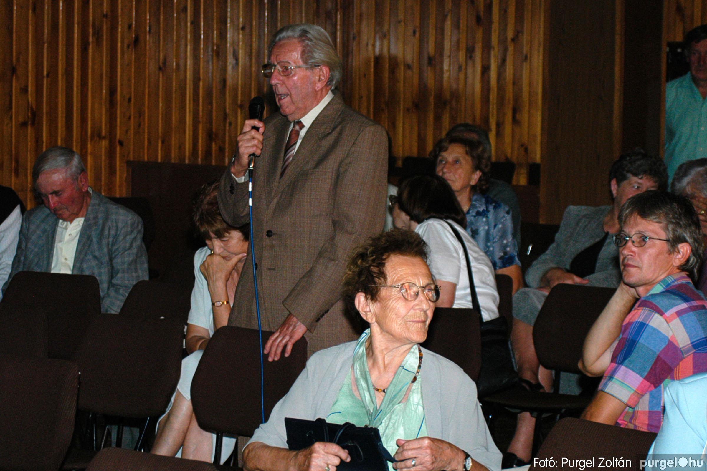 2003.09.20. 061 Elszármazottak találkozója 2003. Fotó:PURGEL ZOLTÁN© DSC_0069q.jpg