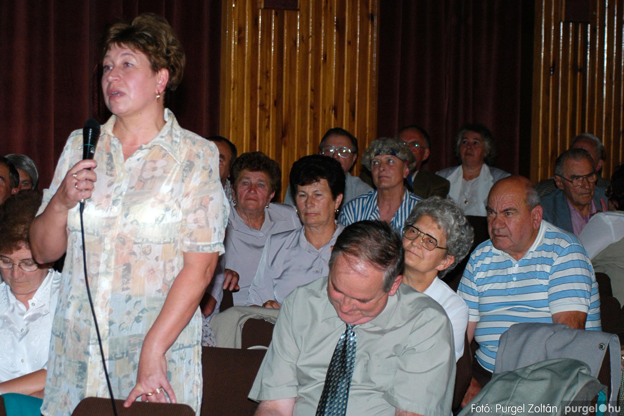 2003.09.20. 060 Elszármazottak találkozója 2003. Fotó:PURGEL ZOLTÁN© DSC_0068q.jpg