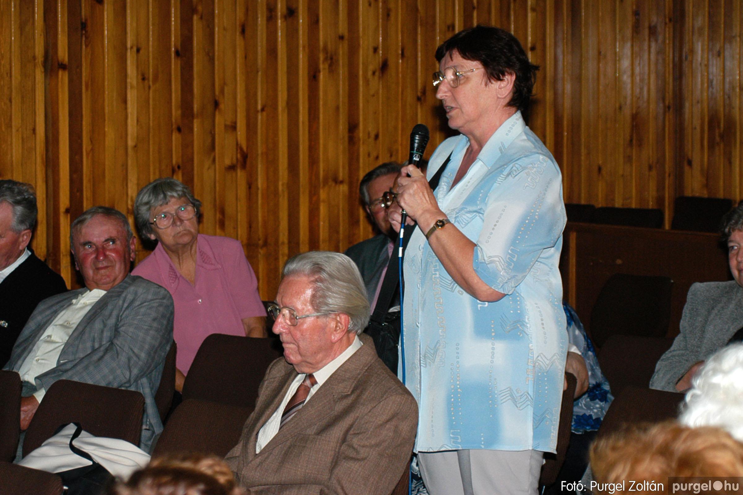 2003.09.20. 049 Elszármazottak találkozója 2003. Fotó:PURGEL ZOLTÁN© DSC_0057q.jpg